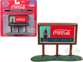 1960's Country Billboard Coca Cola 1/87 HO Scale Models Classic Metal Works 20240