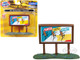 1950's Country Billboard Planters Peanuts 1/87 HO Scale Models Classic Metal Works 20242