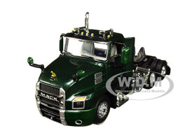Mack Anthem Day Cab Tractor Truck Mountain Green 1/64 Diecast Model First Gear 60-0596
