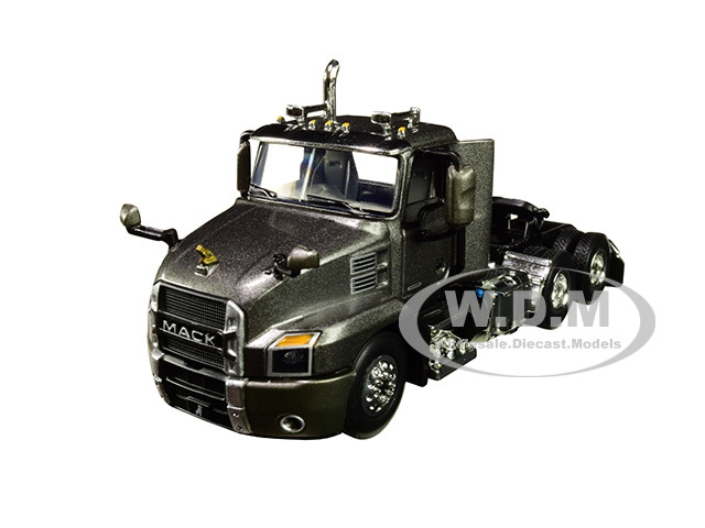 Mack Anthem Day Cab Tractor Truck Graphite Gray 1/64 Diecast Model First Gear 60-0621