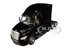 Freightliner Cascadia Truck Black Transporter 1/32 Diecast Model Welly 32695
