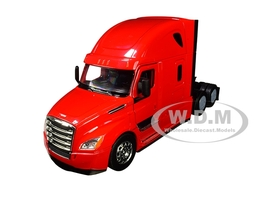 Freightliner Cascadia Truck Red Transporter 1/32 Diecast Model Welly 32695