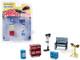 Binford Tools 6 piece Shop Tools Set Home Improvement 1991 1999 TV Series Hobby Exclusive 1/64 Greenlight 13175