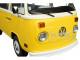 1978 Volkswagen Type 2 T2 Bus Yellow White Top Little Miss Sunshine 2006 Movie 1/18 Diecast Model Greenlight 19051