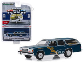 1987 Ford LTD Crown Victoria Wagon Louisiana State Police Crime Scene Investigation Crime Lab Hot Pursuit Series 32 1/64 Diecast Model Car Greenlight 42890 B