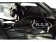 Aston Martin Vulcan Matt Black Lime Green Stripes 1/18 Model Car Autoart 70262