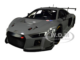 Audi R8 LMS Plain Color Version Nardo Gray 1/18 Model Car Autoart 81801