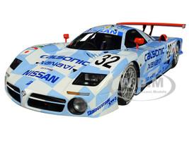 Nissan R390 GT1 #32 K Hoshino A Suzuki M Kageyama 3rd Place Le Mans 1998 Signature Series 1/18 Diecast Model Car Autoart 89876