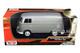 Volkswagen Type 2 T1 Delivery Van Metallic Gray 1/24 Diecast Model Motormax 79342