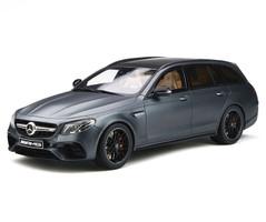 Mercedes AMG E63 S T-Modell Designo Magno Selenite Gray 1/18 Model Car GT Spirit GT232