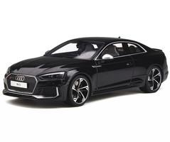 Audi RS 5 Coupe Mythos Black 1/18 Model Car GT Spirit GT751