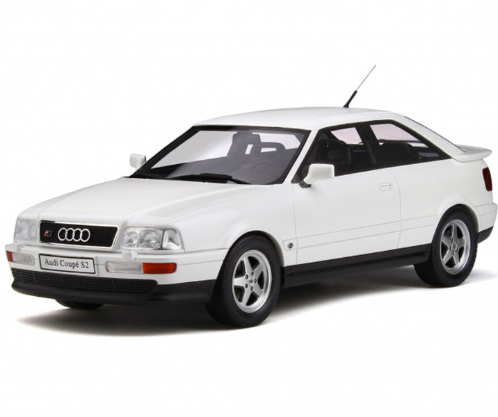 Audi S2 Pearl White Limited Edition 999 pieces Worldwide 1/18 Model Car Otto Mobile OT288