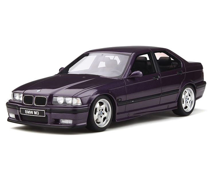 BMW E36 M3 Daytona Violet Limited Edition 2500 pieces Worldwide 1/18 Model Car Otto Mobile OT307