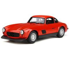 Mercedes Benz 300SL AMG Red Limited Edition 2000 pieces Worldwide 1/18 Model Car Otto Mobile OT311
