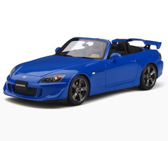 Honda S2000 Type S Cabriolet Apex Blue Pearl Limited Edition 1500 pieces Worldwide 1/18 Model Car Otto Mobile OT312