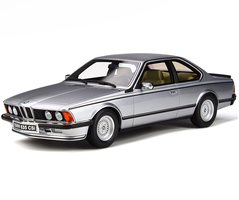 BMW E24 635 CSI Silver Limited Edition 2000 pieces Worldwide 1/18 Model Car Otto Mobile OT313