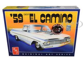 Skill 2 Model Kit 1959 Chevrolet El Camino 2 in 1 Kit Original Art Series 1/25 Scale Model AMT AMT1058