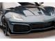 Chevrolet Corvette C7 ZR-1 Shadow Gray Metallic Carbon Top 1/18 Model Car Top Speed TS0148