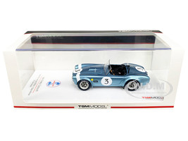 Shelby Cobra #3 Bob Bondurant Winner Grand Prix de Spa 500km 1964 1/43 Model Car True Scale Miniatures 430349
