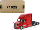 Freightliner New Cascadia Sleeper Cab Truck Tractor Red 1/50 Diecast Model Diecast Masters 71029