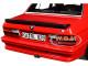 1986 BMW M535i Red 1/18 Diecast Model Car Norev 183262