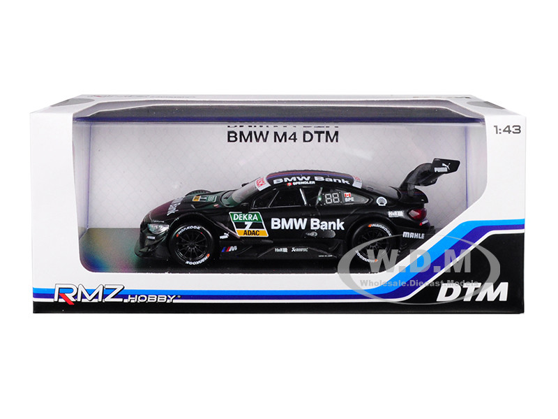 BMW M4 DTM #7 BMW Bank 1/43 Diecast Model Car RMZ City 440998 A