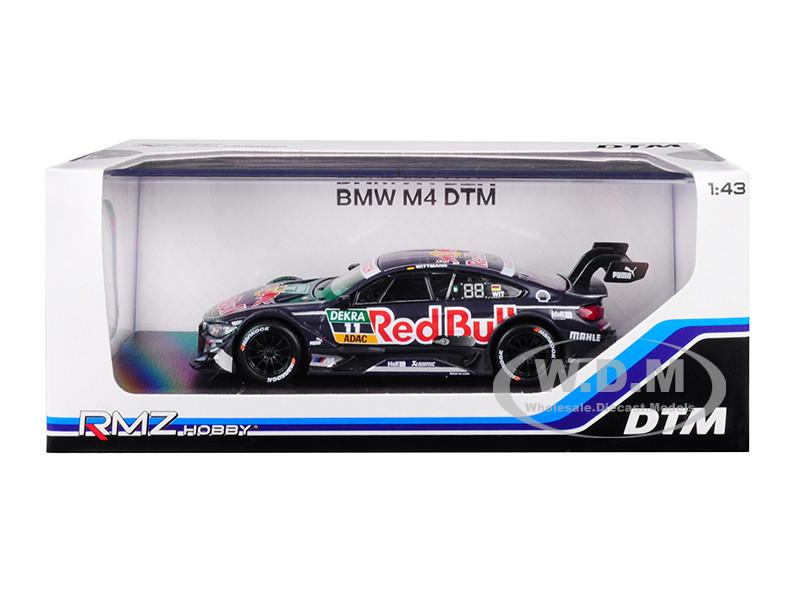 BMW M4 DTM #11 Red Bull 1/43 Diecast Model Car RMZ City 440998 B