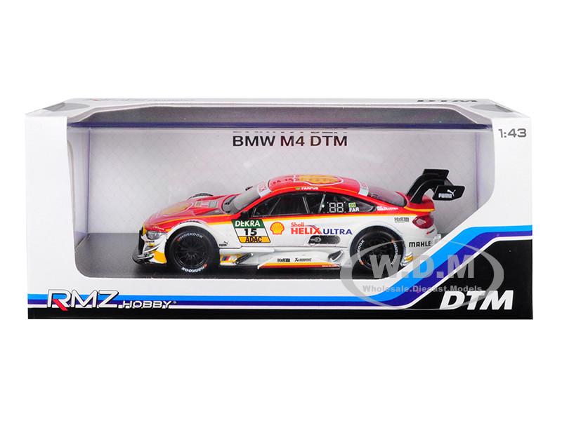 BMW M4 DTM #15 Shell 1/43 Diecast Model Car RMZ City 440998 C