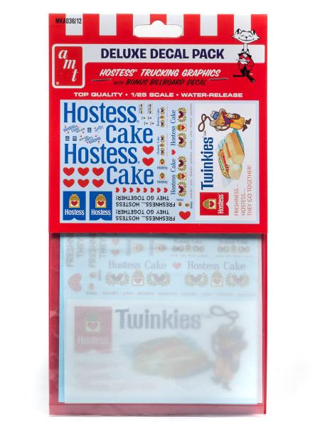 Hostess Trucking Decals Bonus Billboard Decal for 1/25 Scale Models AMT MKA036