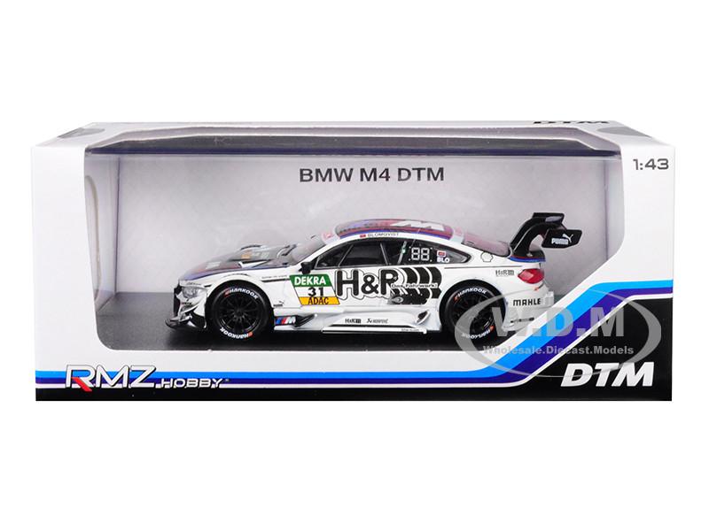 1//43 RMZ Hobby BMW M4 DTM BMW Bank #7 DEKRA Diecast Model
