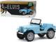 Jeep CJ-5 Sierra Blue Elvis Presley 1935 1977 1/18 Diecast Model Car Greenlight 19061