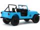 1977 Jeep CJ-7 Dharma Blue Lost 2004 2010 TV Series 1/18 Diecast Model Car Greenlight 19064
