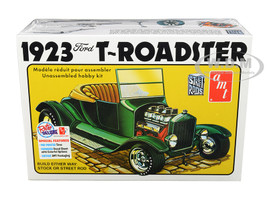 Skill 2 Model Kit 1923 Ford Model T Roadster 2 in 1 Kit 1/25 Scale Model AMT AMT1130