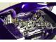 1956 Cadillac Eldorado Convertible Purple Elvis Presley Diecast Figurine 1/24 Diecast Model Car Jada 30985