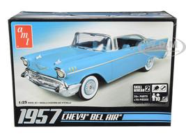 Skill 2 Model Kit 1957 Chevrolet Bel Air 1/25 Scale Model AMT AMT638 M