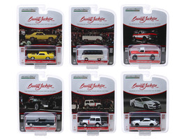 Barrett Jackson Scottsdale Edition Series 4 Set of 6 Cars 1/64 Diecast Model Cars Greenlight 37180