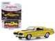 1970 Mercury Cougar Eliminator 428 CJ Yellow Black Stripes Lot #2048 Barrett Jackson Scottsdale Edition Series 4 1/64 Diecast Model Car Greenlight 37180 A
