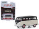 1965 Volkswagen Type II 21-Window Deluxe Bus Cream Black Lot #1315 Barrett Jackson Scottsdale Edition Series 4 1/64 Diecast Model Car Greenlight 37180 B
