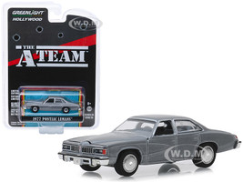 1977 Pontiac LeMans Gray The A-Team 1983 1987 TV Series Hollywood Series Release 25 1/64 Diecast Model Car Greenlight 44850 C