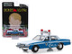 1986 Chevrolet Caprice Blue White Wilmette Illinois Police Home Alone 1990 Movie Hollywood Series Release 25 1/64 Diecast Model Car Greenlight 44850 E