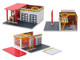 Mechanic's Corner Series 5 3 piece Diorama Set for 1/64 Scale Models Greenlight 57051 57052 57053