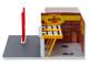 Mechanic's Corner Pennzoil Vintage Service Gas Station 10 Minute Oil Change Center Diorama 1/64 Scale Models Greenlight 57052