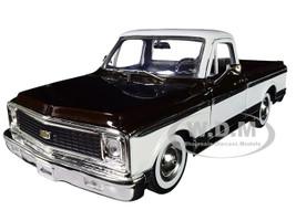 1972 Chevrolet Cheyenne Pickup Truck Brown White Extra Wheels Just Trucks Series 1/24 Diecast Model Car Jada 96817
