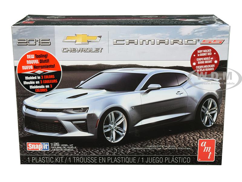 Skill 1 Snap Model Kit 2016 Chevrolet Camaro SS 1/25 Scale Model AMT AMT982 M