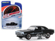 1968 Chevrolet COPO Camaro Tuxedo Black White Stripes Greenlight Muscle Series 22 1/64 Diecast Model Car Greenlight 13250 A