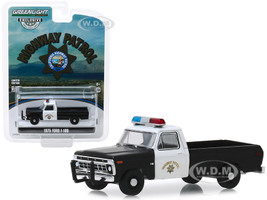 1975 Ford F-100 Pickup Truck California Highway Patrol CHP Hobby Exclusive 1/64 Diecast Model Car Greenlight 30085