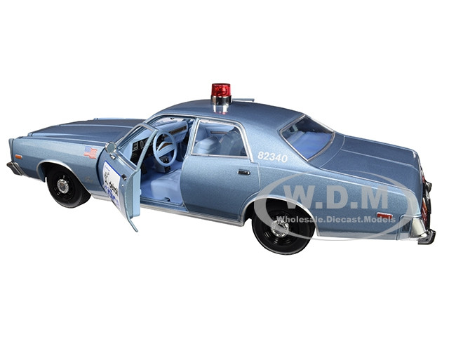 1977 Plymouth Fury Auto Police Diecast 12cm 1//43 beverly Hills Cop GREENLIGHT