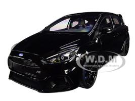 2016 Ford Focus RS Shadow Black 1/18 Model Car Autoart 72952