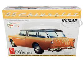 Skill 3 Model Kit 1955 Chevrolet Nomad Wagon 2 in 1 Kit 1/16 Scale Model AMT AMT1005