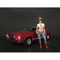 The Western Style Figurine I for 1/24 Scale Models American Diorama 38301